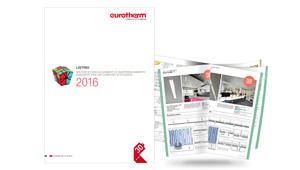 Nuovo catalogo listino Eurotherm 2016