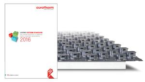 Nuovo catalogo listino standard 2016