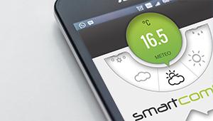 Smarthome domotica regolazione radiante Smartcomfort