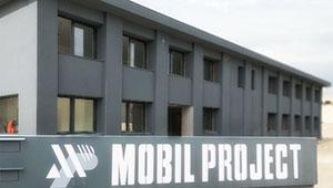 Sistema radiante a soffitto per sede Mobil Poject s.p.a.