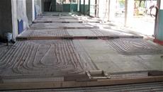 pavimento radiante Eurotherm per ristrutturazione