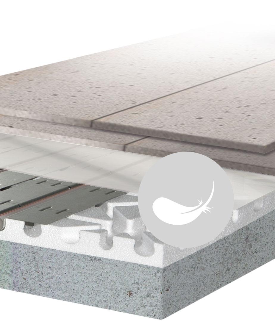 Impianto A Pavimento A Secco impianto a pavimento radiante
