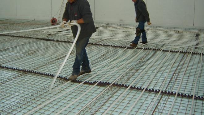 Sistemas de suelo Eurotherm para Le Fablier