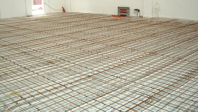 impianti a pavimento Eurotherm per Le Fablier
