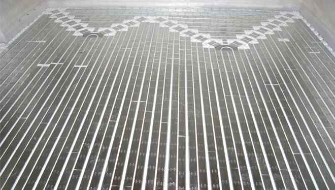 riscaldamento a pavimento per ristrutturazione