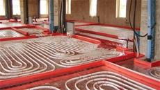 pavimento radiante a risparmio energetico