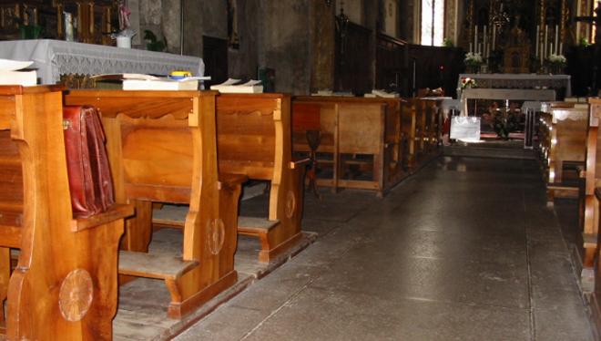 sistemas radiantes para lugares de culto