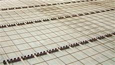 Impianti a riscaldamento a pavimento per stabilimento Cranchi