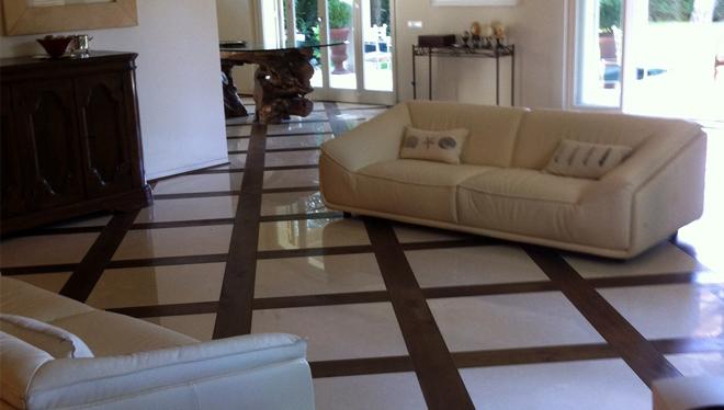 villa con suelo radiante de espesor nulo