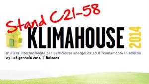Eurotherm tra i protagonisti dell'edilizia sostenibile a Klimahouse 2014