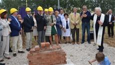 Eurotherm e l'impegno nel sociale: Posa della prima pietra di Casa Tabanelli