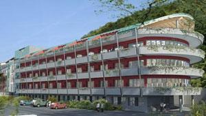 Techo acústico radiante para una residencia de ancianos en Rovereto