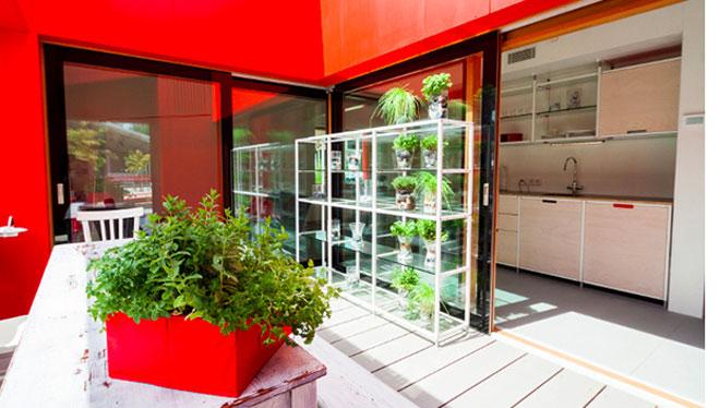 Calefacción y refrigeración Zeromax de Eurotherm en la casa de Rhome para DenCity