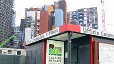 Planta radiante en las 7 torres de la nueva Villaggio Expo Milano