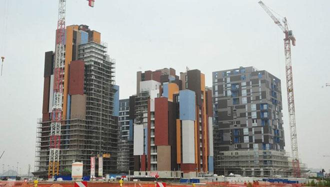 Sistema radiante eficiente e invisible en las 7 torres de la nueva Villaggio Expo Milano