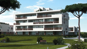 Techo radiante para nueva residencia de prestigio en la zona cerca de la Laguna, no muy lejos del centro de Lignano Sabbiadoro