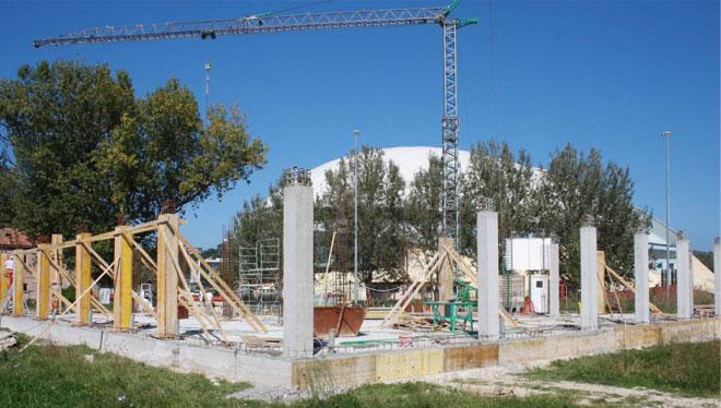 Proseguono i lavori per Casa Tabanelli, solidarietà Eurotherm