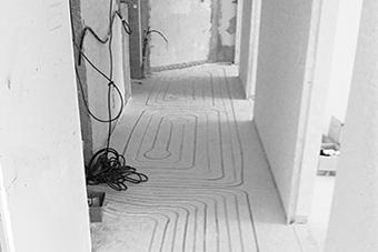 ristrutturare con sistema radiante a basso spessore