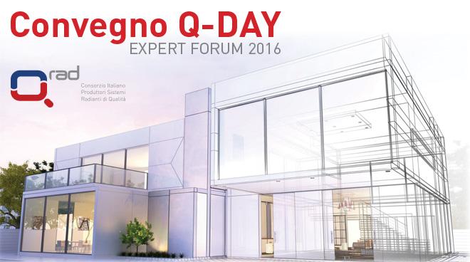 Convegno Q-rad expert forum sistemi radianti