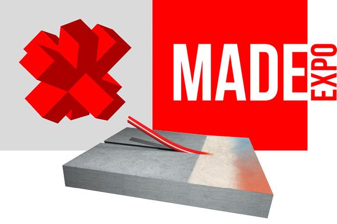 MADE Expo Milano Rho 2017 - sistema a pavimento basso spessore Zeromax