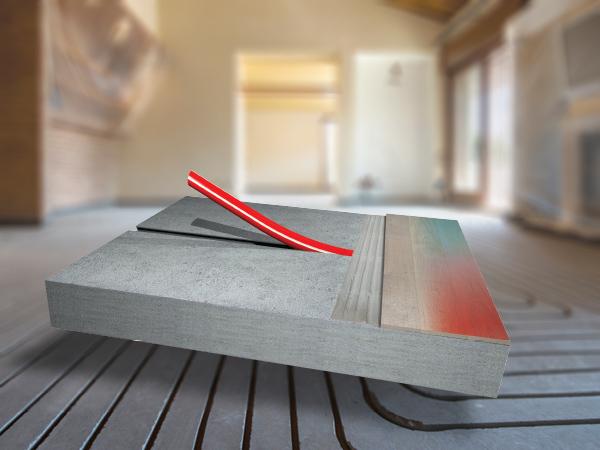 Ristrutturazione a basso spessore comfort e risparmio energetico impianto radiante a pavimento zero spessore Zeromax