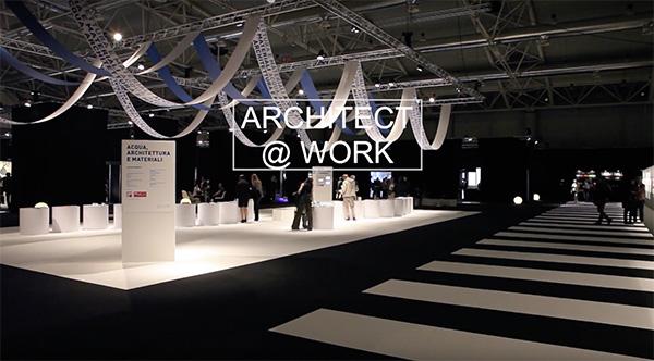Fiera dell'innovazione e del design in architettura Architect@Work 2017 Milano