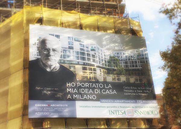 Impianto radiante, regolazione smartcomfort e trattamento aria per la residenza Carlo Erba di Milano progettata dall'architetto Peter Eisenman