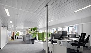 EASY-KLIMA soffitto metallico terziario