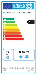 Etichetta energetica Deuclima-VMC 3 CLASSE A