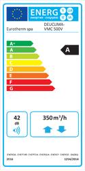 Trattamento aria Deuclima-VMC 500 V classe energetica A e A+