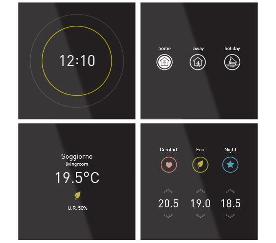 La grafica intuitiva del display SmartOne 365 garantisce la facile usabilità