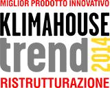 Premio Klimahouse Trend 2014 come miglio prodotto per la ristrutturazione