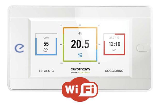 Nuovo listino Eurotherm 2017 regolazione Smartcontrol 2.0 con wi-fi integrato
