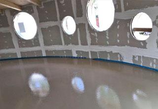 Sistema radiante pavimento scuola infanzia Calenzano - Firenze