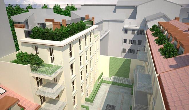 Restauro e riqualificazione appartamenti edificio storico con sistema radiante a pavimento via Melegnano a Milano