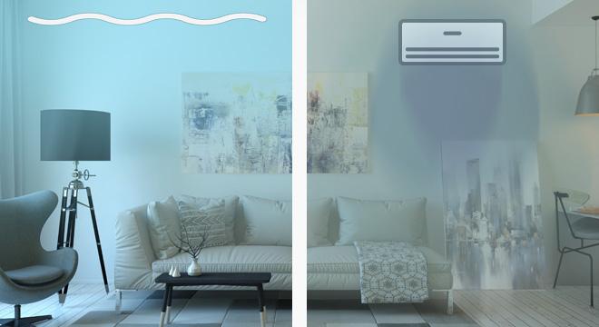 Climatizzazione estiva impianto radiante
