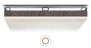 Resa soffitto radiante Leonardo 5,5 e IDRO