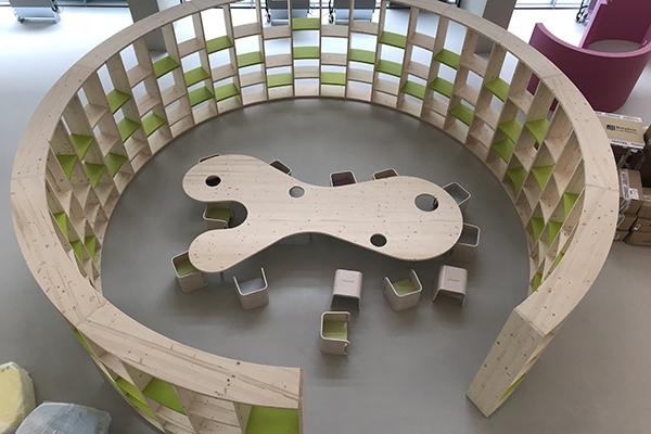 Sistema radiante a pavimento per la scuola nido Jacarandà, Corso Sempione Milano