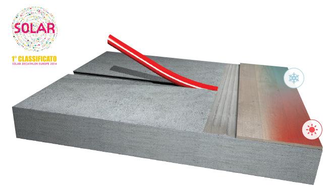 Può il sistema radiante convivere con il rivestimento in parquet