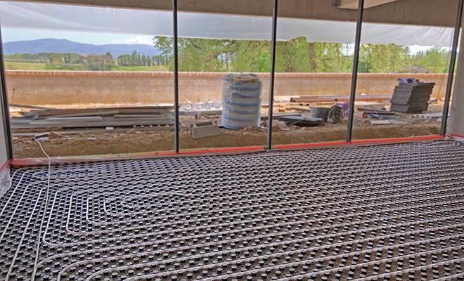 Comfort climatico nella scuola è garantito dal sistema radiante a pavimento termoformato euroflex TF di Eurotherm