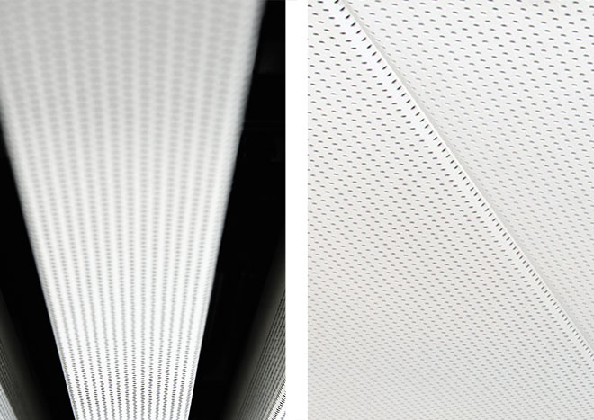 Impianto radiante metallico a soffitto SAPP e EASY-KLIMA