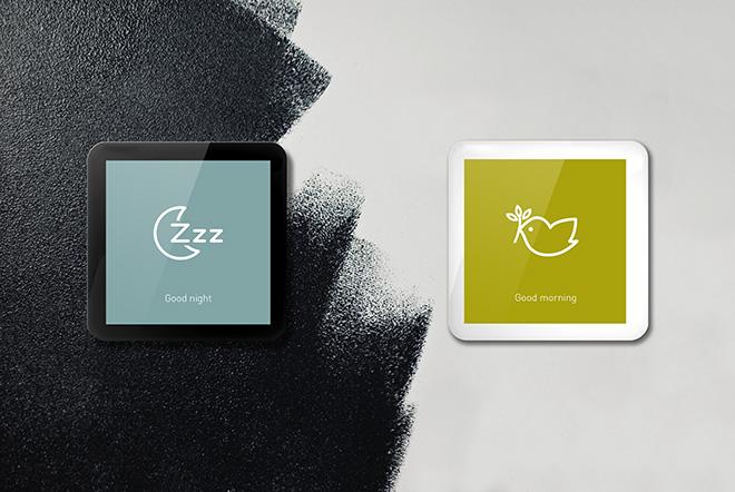 SmartOne 365 finitura colore nero o colore bianco
