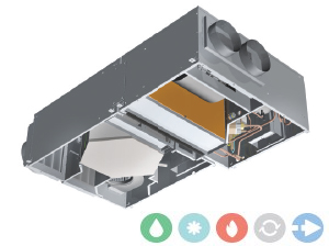 Trattamento aria Deuclima-VMC DEU-REC 450 S