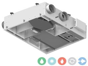Trattamento aria Deuclima VMC con compressore