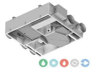 Trattamento aria Deuclima-VMC senza compressore