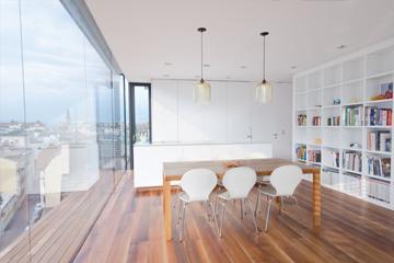 Appartamento ristrutturato con soffitto radiante in cartongesso