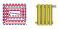 Applicazioni radiante e radiatore tubazione Eurotherm MidiX Plus