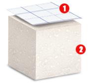Sistema radiante a pavimento europlus-acoustic