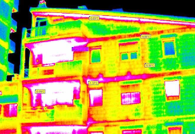 L'isolamento termico negli edifici