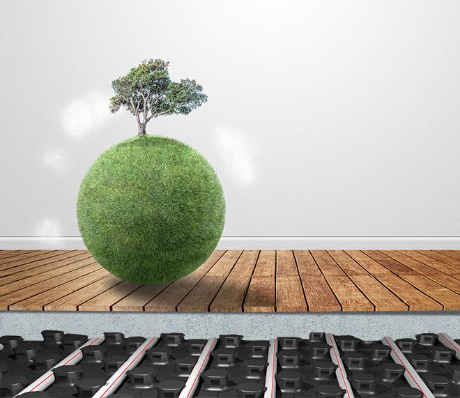 Sistemi radianti, comfort indoor e risparmio energetico